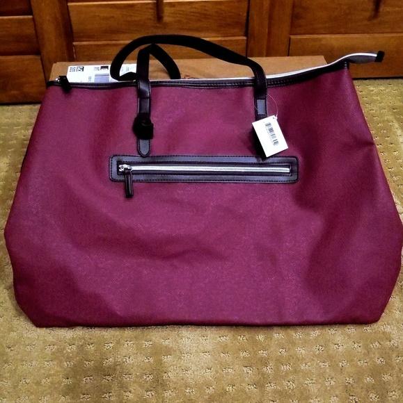 fc6197b1152 Bags   Burgundy Travel Bag   Poshmark